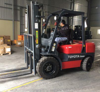 Xe nâng Artison 3 tấn FD30
