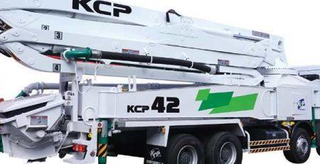 Bơm bê tông cần KCP 42 m