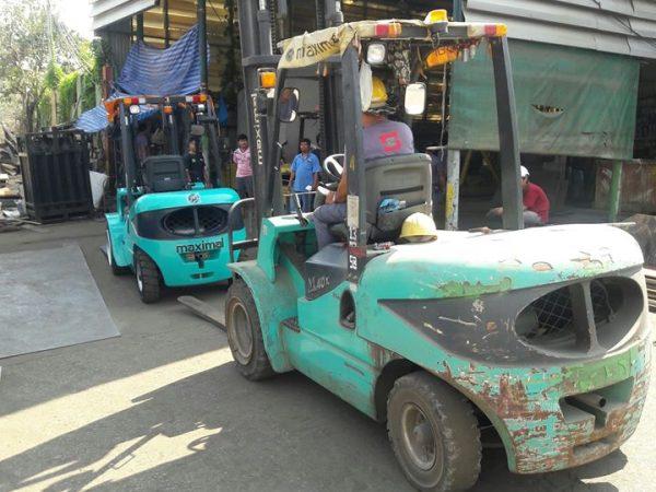 Xe nâng dầu diesel Maximal FD40