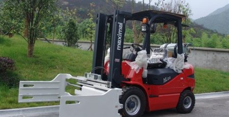Xe nâng Maximal FD20 lắp bộ kẹp vuông