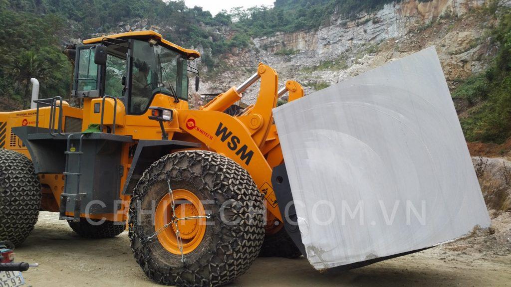 Xe nâng đá block WSM