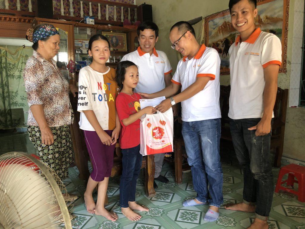 Gia đình anh Thọ (Minh Khai, Vũ Thư, Thái Bình)