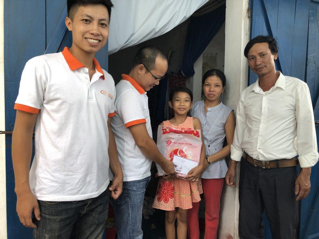 Gia đình chị Thủy (HT 1, thị trấn VT-TB)