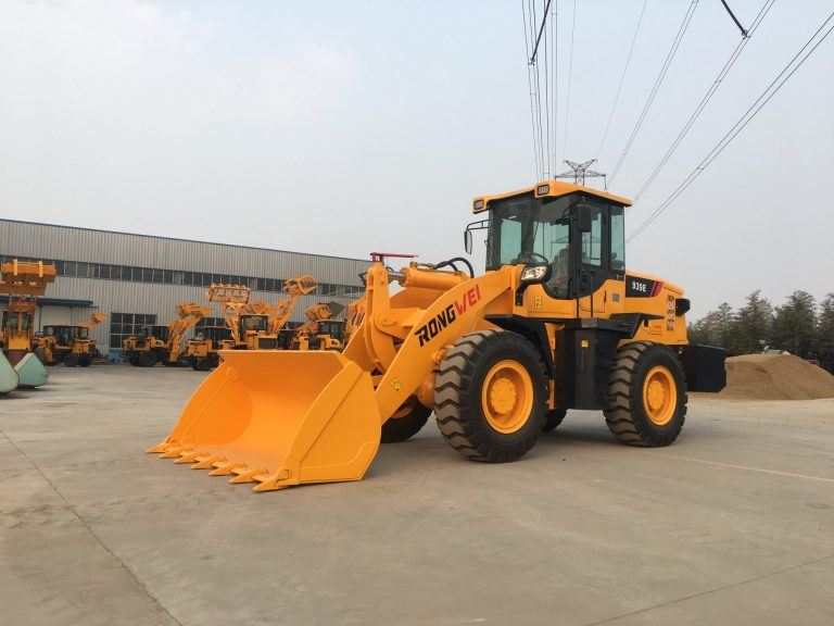 Xúc lật Rongwei ZL939E gầu 1,7 m3