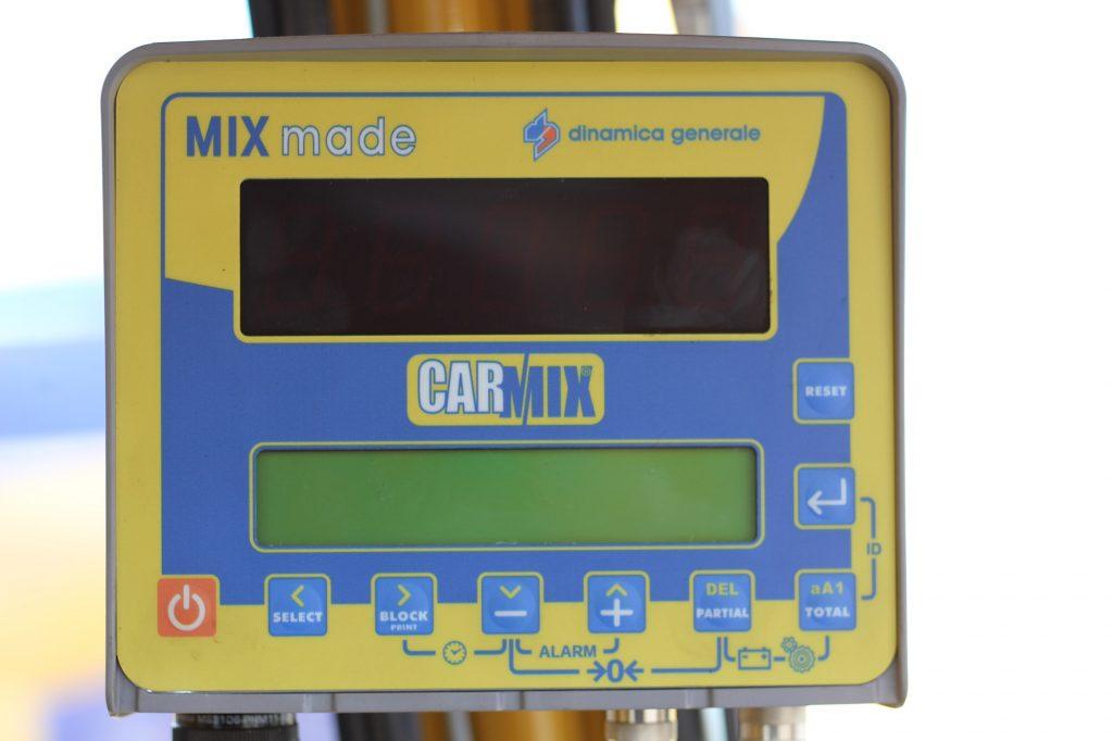 Hệ thống cân tải trọng trực tiếp của CARMIX