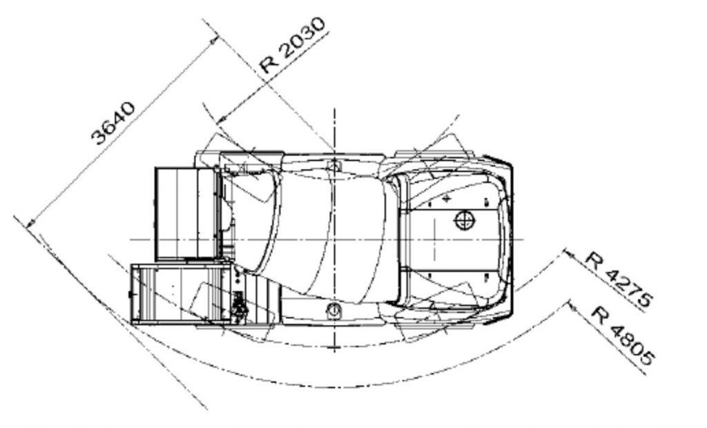 Bản vẽ xe trộn Fiori DBX50
