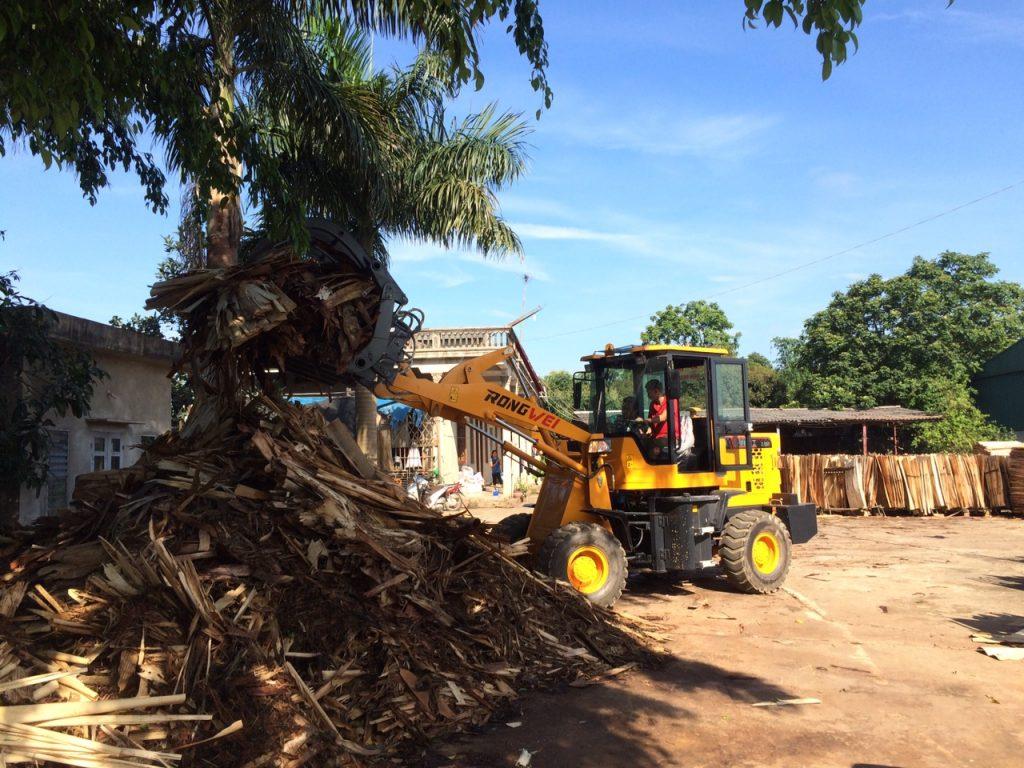 Xúc lật gắp gỗ Rongwei ZL926LF