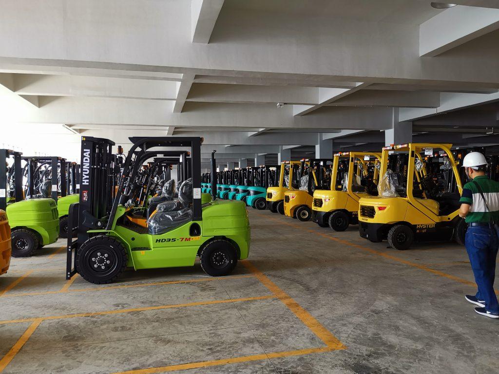 xe nâng Maximal, Hyundai, Hyster tại nhà máy xe nâng Hyster-Yale Maximal