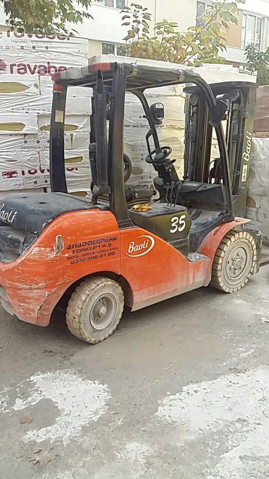 Xe nâng dầu Baoli 3,5 tấn