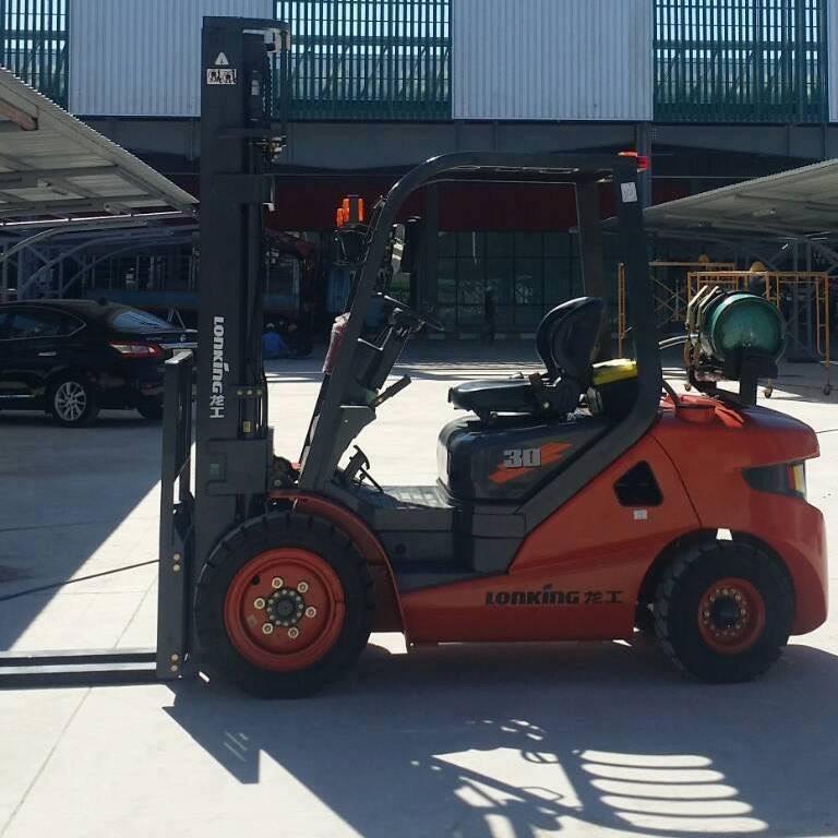 Xe nâng LPG 3 tấn Lonking