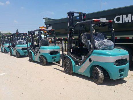 xe nâng dầu Baoli tại Việt Nam