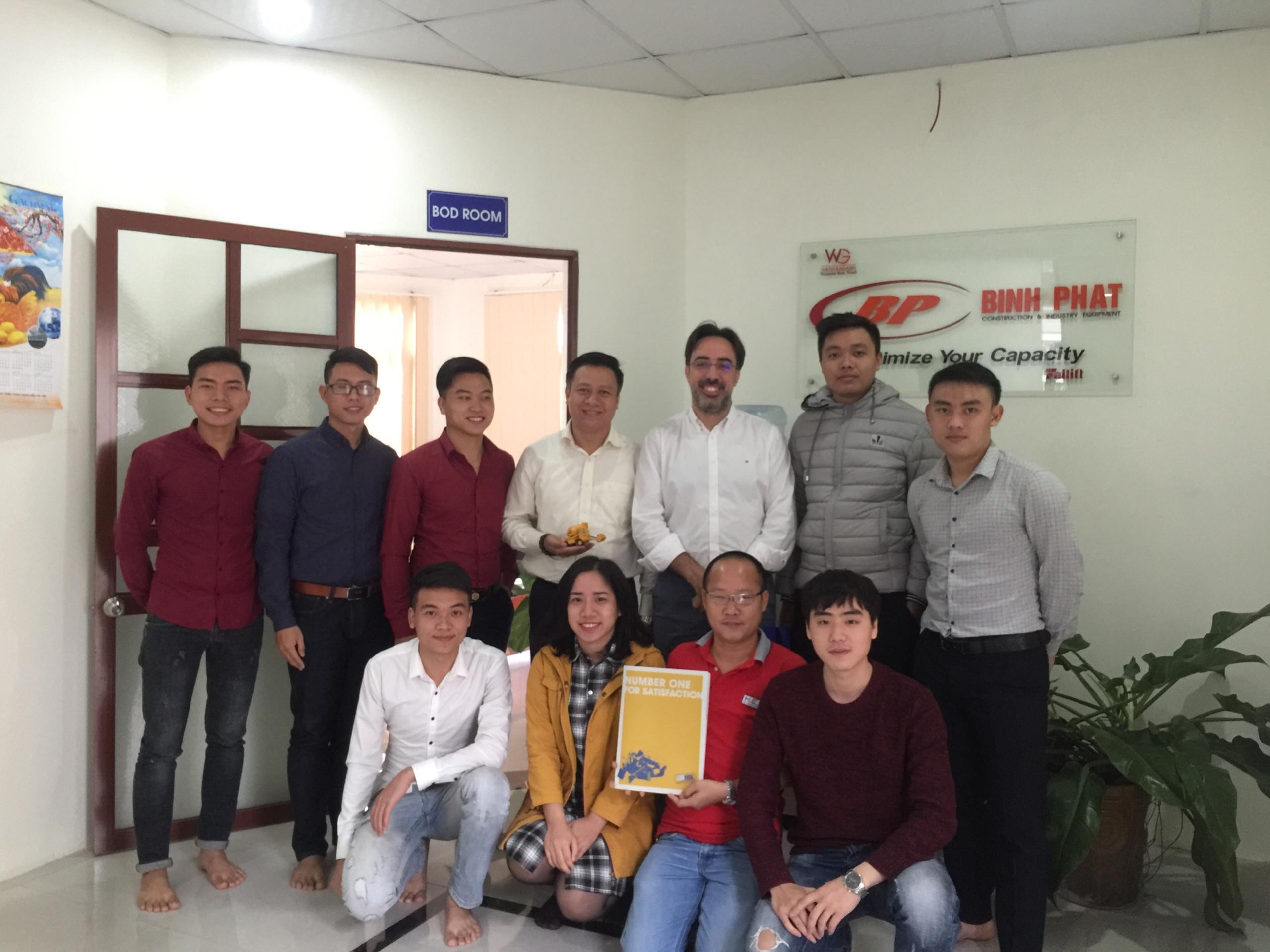 Đào tạo hàng năm của CARMIX tại Việt Nam (2017)