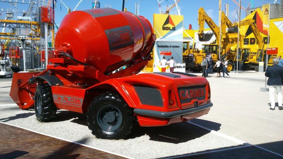 Xe trạm trộn bê tông tự hành CARMIX 3500TC