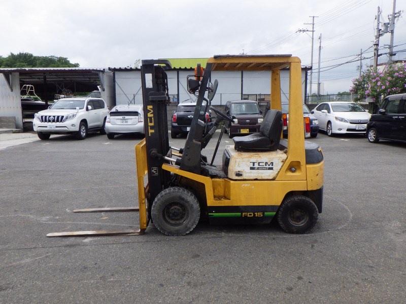 Xe nâng dầu TCM Nhật bãi