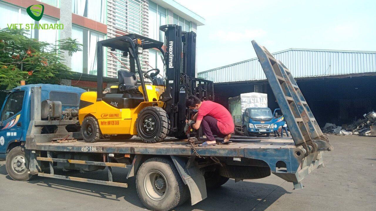 Xe nâng dầu 3,5 tấn Maximal FD35